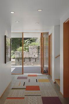 Flor tiles - idea for family room rug