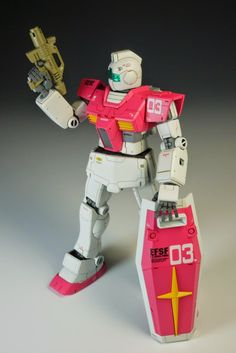"Custom Build: HGUC 1/144 RGM-79 GM ""Detailed"" - Gundam Kits Collection News and Reviews"