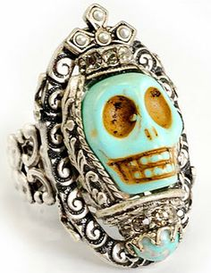 Day of the Dead-inspired jewelry