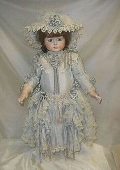 Doll Dress and Bonnet ♥ Dollightfully Yours ♥ Cheryl Imbornone