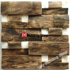 3D wood mosaic wall tile NWMT173 white stone mosaic tile ancient wood mosaic tiles backsplash Wholesale wood mosaic tile, wood art mosaic pattern,rustic wood wall tile,classic wood mosaic tile kitchen backsplash,3D mosaic tile,wood wall tile [NWMT173] - $29.79 : MyBuildingShop.com