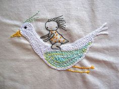 Deshilachado: Wendalane: bordados y dibujos para soñar / Wedanlane: embroideries and drawings to dream