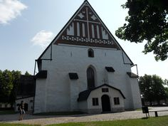 old church Built In Storage, Finland, Mansions, House Styles, World, Building, Home Decor, Decoration Home, Manor Houses