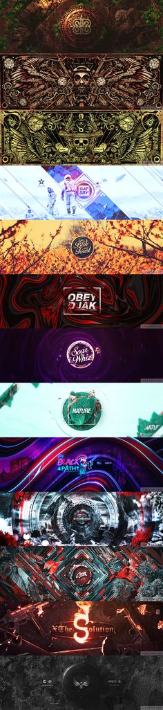 Twitter Banner design on Behance