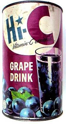 What we drank growing up.....Hi-C Grape Drink