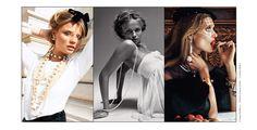 Joaillerie: Les perles dans Vogue Paris exposition Victoria & Albert Museum Londres Peter Lindbergh Thomas Lagrange Patrick Demarchelier