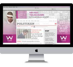 WiMP - Digital Campaign by Simon Friis, via Behance
