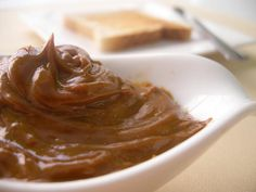 """Dulce de Leche is a dessert popular in South America, and something I've always loved.  It literally is translated as """"candy of milk"""" or """"milk candy"""" and is made by very slowly heating milk which causes the sugars to caramelize. This results in a brown deliciousness that is perfect on all sorts of d"""