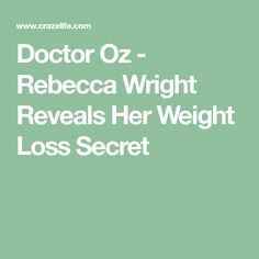 Weight loss dark skin