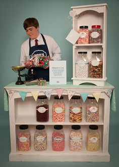 Vintage Sweet Shop Hire for Weddings
