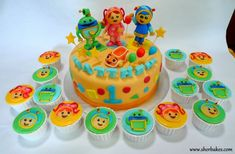 23+ Marvelous Image of Team Umizoomi Birthday Cake . Team Umizoomi Birthday Cake Team Umizoomi Cake And Cupcakes Sherbakes  #BirthdayCakeToppers
