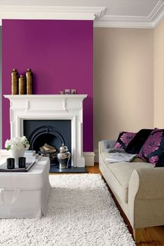 New wall interior paint fireplaces Ideas Classy Living Room, Living Room Decor, Bedroom Decor, Wall Color Combination, Interior Paint, Interior Design, Paint Fireplace, Colourful Living Room, Home Office Decor