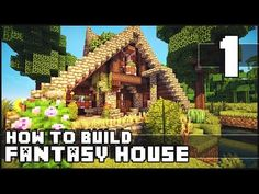 ▶ Keralis Minecraft - How to Build : Fantasy House - Part 1 - YouTube