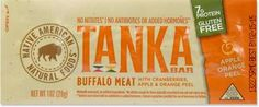 Tanka Buffalo Cranberry Bar - 1 oz. - REI.com