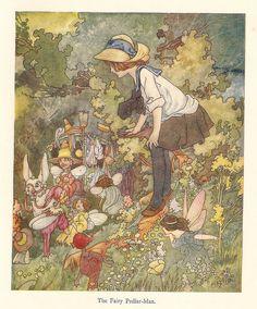 Charles Robinson book illustration