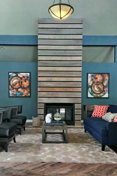 Clubhouse & Leasing Office Remodel - Rustic Chic