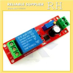 1PCS/lot Best Price DC 12V Delay Timer Switch Adjustable Module 0 to 10 Second NE555 Electrical New Timer Relay Solid State Rela
