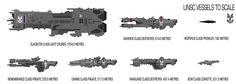 Halo UNSC ships by SplinteredMatt.deviantart.com