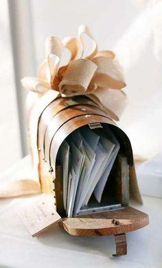 boite aux lettres urne mariage