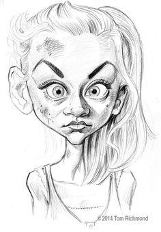 Beth Greene (Emily Kinney) by Tom Richmond