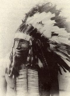 Big Foot (Spotted Elk); (Tribe : Miniconjou (Sioux). On the morning of December 29, 1890, the Sioux chief Big Foot and some 350 of his followers camped on the banks of Wounded Knee creek. Surrounding their camp was a force of U.S. troops charged with the responsibility of arresting Big Foot and disarming his warriors. The scene was tense. Trouble had been brewing for months.