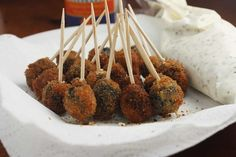 Greek fried olives