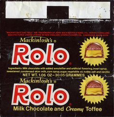 Our Big Rolo Roundup! 75 Years of Rolo! Vintage Sweets, Retro Sweets, Vintage Candy, British Candy, Necco Wafers, Candy Companies, Food Icons, Vintage Packaging, Candy Wrappers