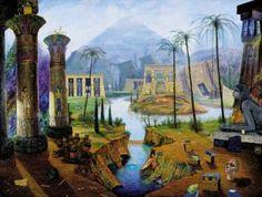 """Saatchi Art Artist Jean Thomassen; , """"Egypt"""" #art"""