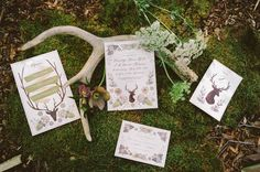 cool little blog about woodland stationary