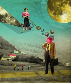 cosmic energy by Kacper Kiec #Collage