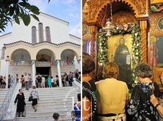 Katerina Theodore Photography | St. Pareskevi - Nafpaktos, Greece #saint #nameday #stpareskevi #church #Nafpaktos #Greece #icon
