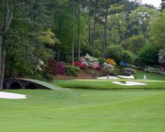 The most treacherous short par three in the world! The 12th at Augusta National Golf Club