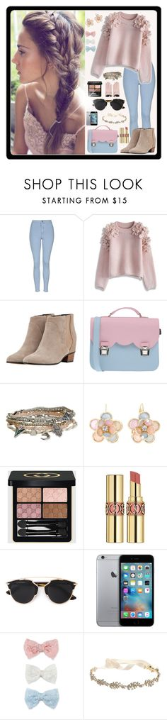 """""""#Fashion"""" by andrej4e-xoxo ❤ liked on Polyvore featuring Topshop, Chicwish, Golden Goose, La Cartella, Aéropostale, Mixit, Gucci, Yves Saint Laurent, Christian Dior and Decree"""