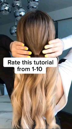 Easy Hairstyles For Long Hair, Cute Hairstyles, How To Ponytail Hairstyles, Long Blonde Hairstyles, Hairdos, Updos, Long Fine Hair, Long Hair Cuts, Hair Affair