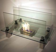 Nu-Flame Fiero Freestanding Ethanol Fireplace