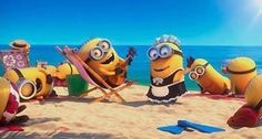 Minions a la playa