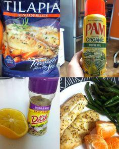 Lemon-herb Tilapia--24D Challenge friendly