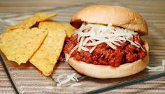 TRIPLE PEPPER SLOPPY JOE - Sloppy Joe sandwiches are always a hit at the family dinner. There are a variety of ways to make them and this recipe kicks up the pepper factor times 3.  Topped with some mozzarella cheese this tried and true sandwich is taken to a new level.