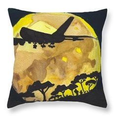 Want to buy this pillow? Click on the title or follow this link:  https://fineartamerica.com/featured/night-travels-ali-baucom.html?product=throw-pillow