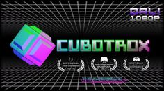 """Cubotrox is an addictive puzzle game that challenges you to complete pixel art images by managing falling neon-colored cubes. Catch, drop and rotate your way to victory in a game with retro-futuristic neon visuals and synth-retro-wave music that excels at being """"easy to play, hard to master"""". #Cubotrox #TheBarberiansGS #indiegame #Steam #puzzle #YouTube"""