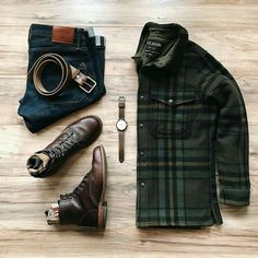 Stylish Mens Clothes That Any Guy Would Love Mens Clothing Ideas rugged style Stylish Mens Outfits, Casual Outfits, Men Casual, Simple Outfits, Casual Art, Outfit Grid, Fashion Mode, Mens Fashion, Style Fashion