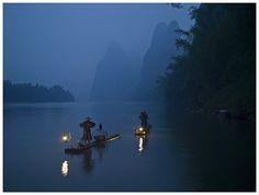 Traditional Fishing - Guilin, Guangxi