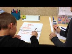 Writing Component of Reading Recovery - YouTube