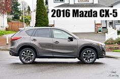 The Brand New 2016 Mazda CX-5 - if you are looking for a new crossover SUV, check out this review of the 2016 Mazda CX-5!