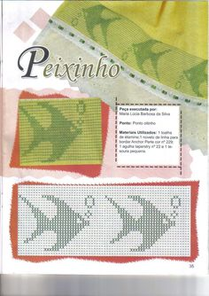 O que você procura? Filet Crochet Charts, Knitting Charts, Crochet Stitches, Swedish Weaving Patterns, Swedish Embroidery, Create Picture, Double Crochet, Blackwork, Needlepoint