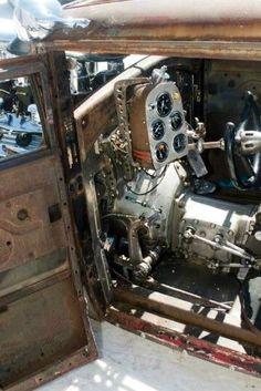 Rat Rod Cockpit -