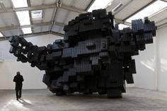 Antony Gormley Galleria Continua Antony Gormley, Interactive Installation, Installation Art, Art Installations, Hayward Gallery, Sir Anthony, Artwork Images, Space Station, Le Moulin