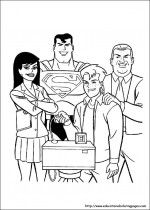 Free Superman coloring pages for kids - develop study habit of your kids through coloring the out sketch images and cartoons