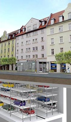 Munich is building an automated, underground parking system in response to growing congestion. - Image - Road Traffic Technology