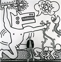 Keith Haring Art - 80's pop culture icon | Fashion Style Blog